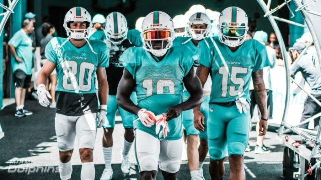 Photo of Miami Dolphins; to view image from its original source visit https://www.foxsports640.com/dolphins-release-full-2020-schedule/