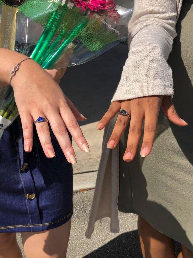 Junior Ring Ceremony.