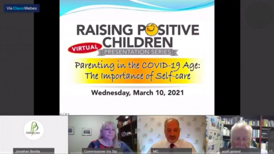Screenshot taken from Raising Positive Children Livstream; posted on youtube and available here: https://www.youtube.com/watch?v=lxUxeua3hqM