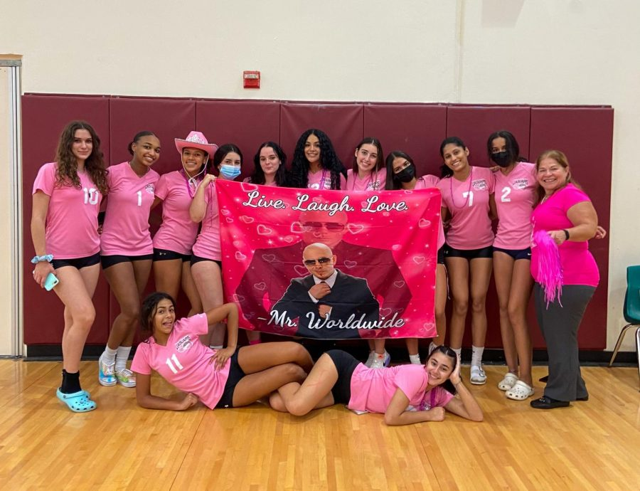 Spiking for Breast Cancer Awareness